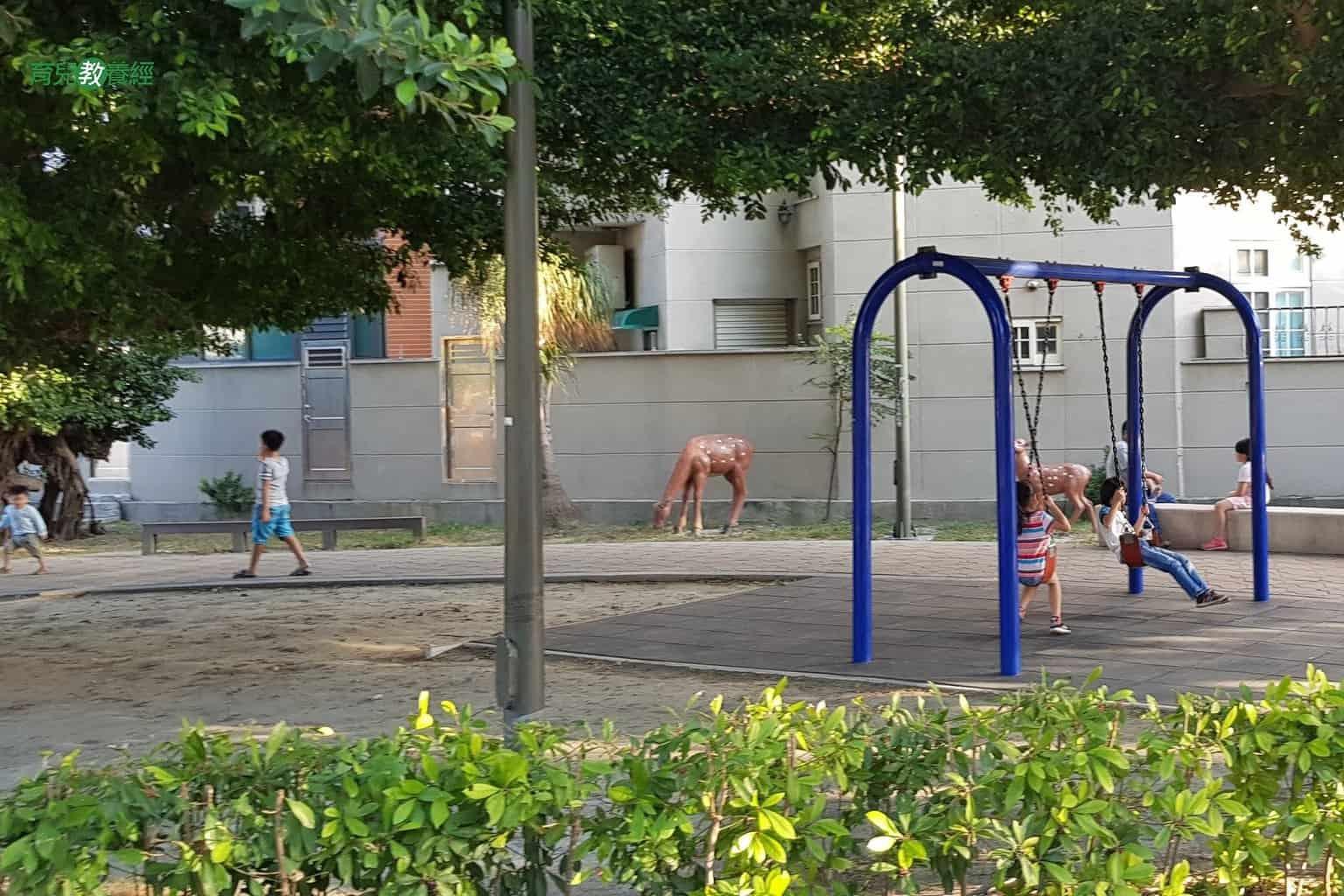 鹿港小鹿兒童公園盪鞦韆