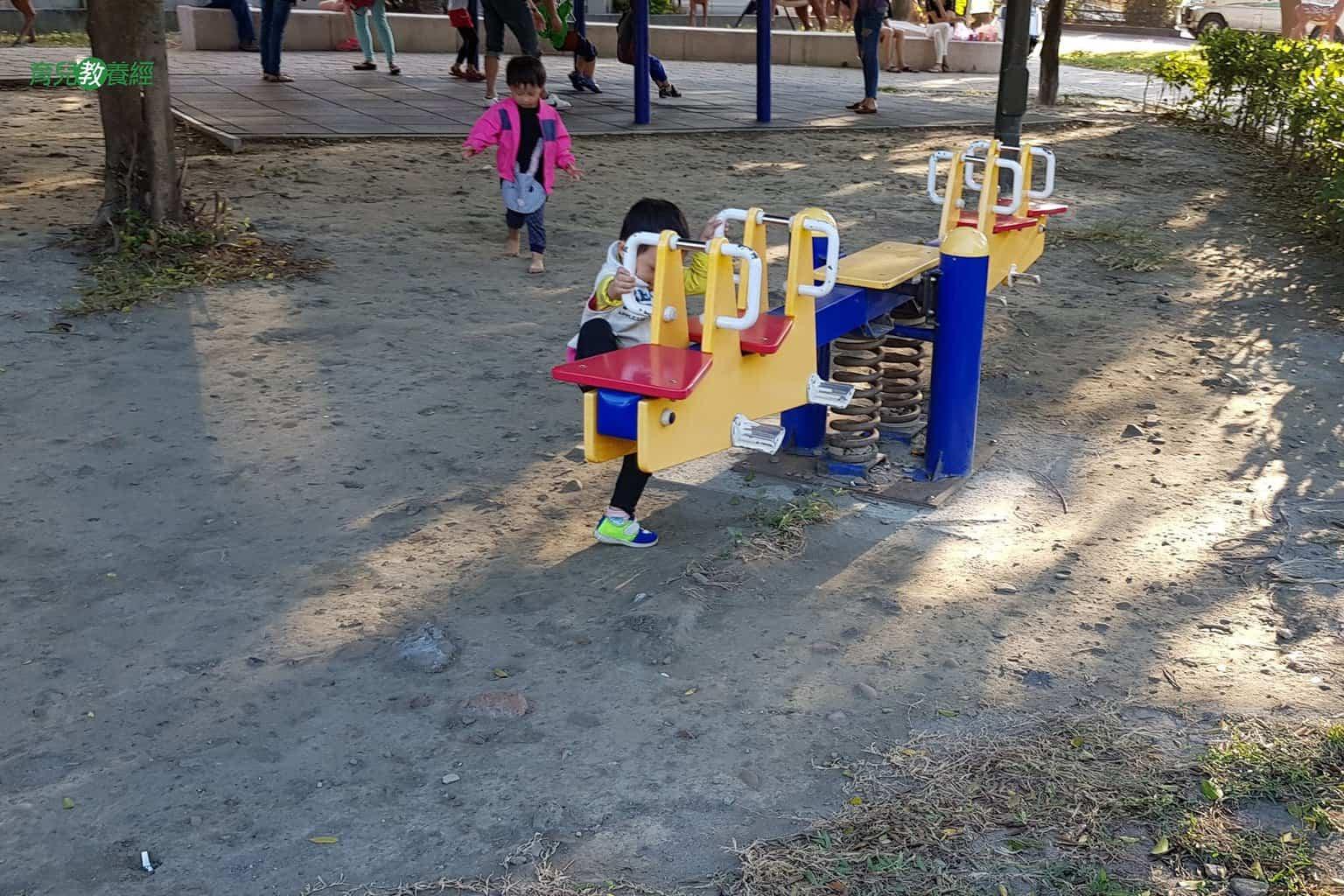 鹿港小鹿兒童公園蹺蹺板